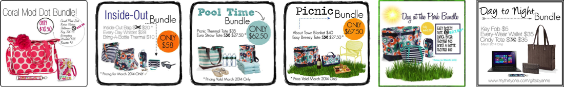 Thirty-One Gifts – March Customer Special