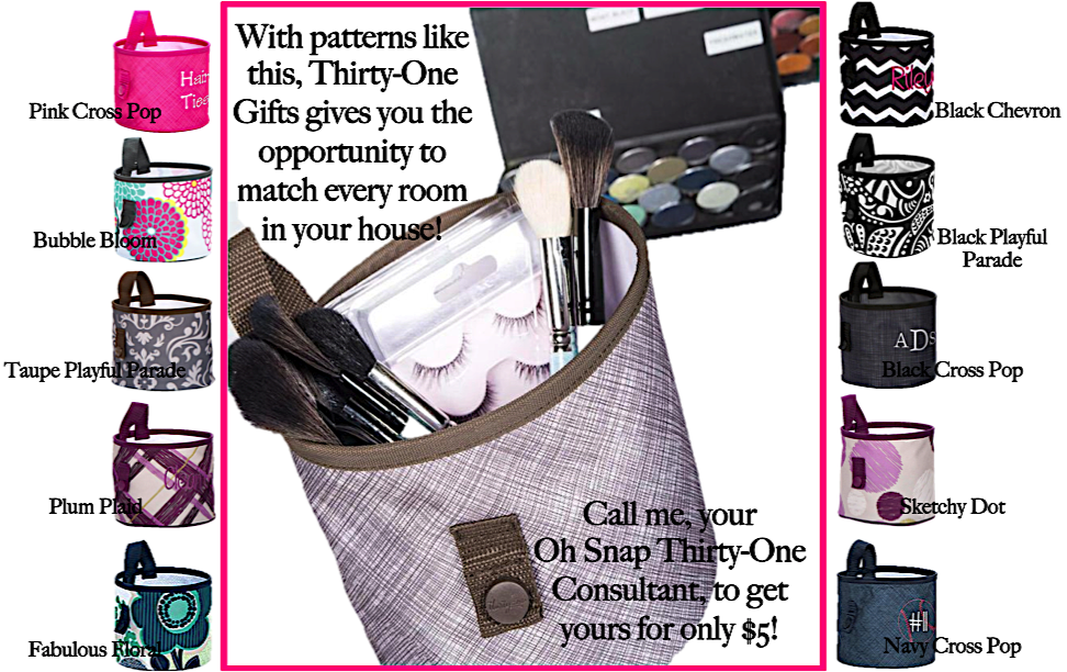 Thirty-One Gifts – April Special – Oh Snap Bin Patterns