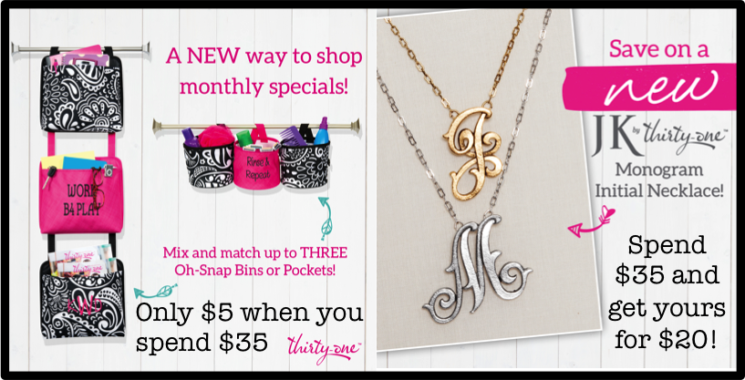 Thirty-One Gifts – April Special – Triple Treat