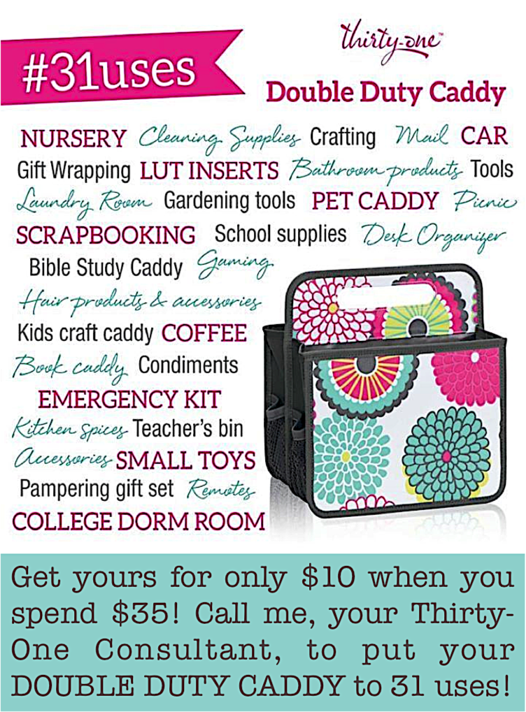 Thirty-One Gifts - June Special - Double Duty Caddy