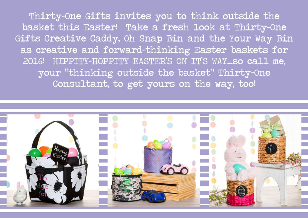Thirty-One Gifts Easter