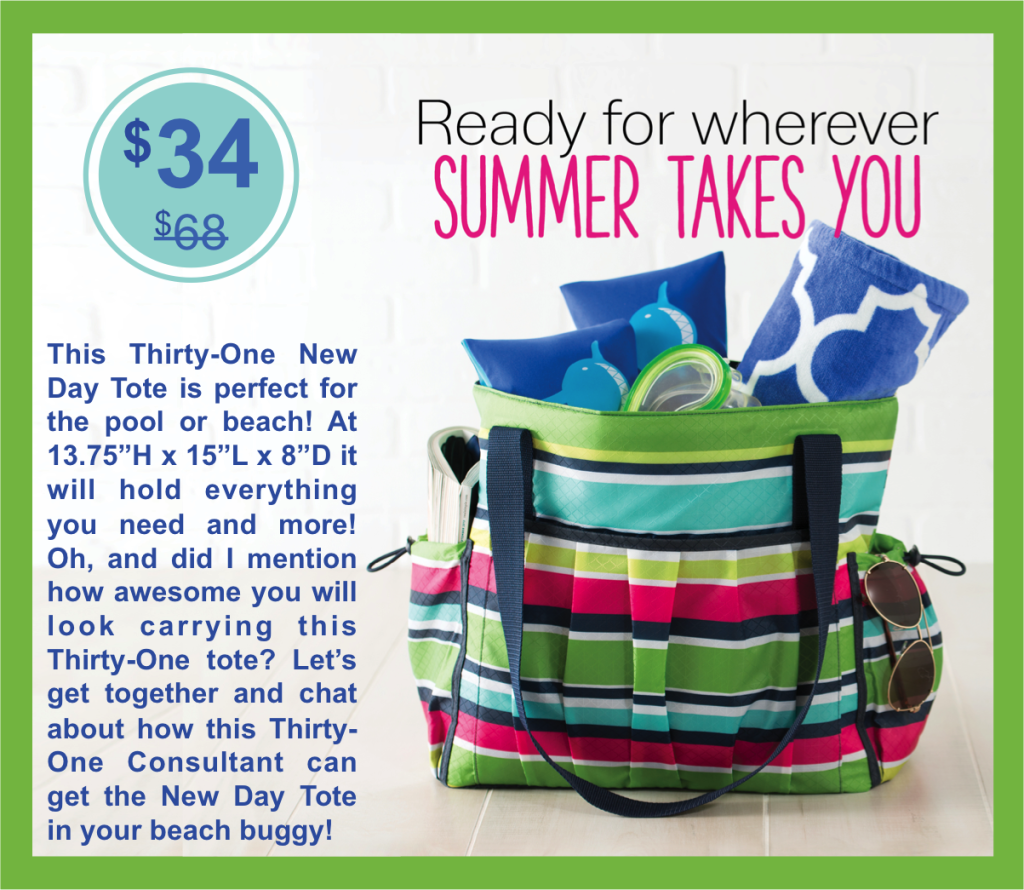 Thirty-One Gifts New Day Tote