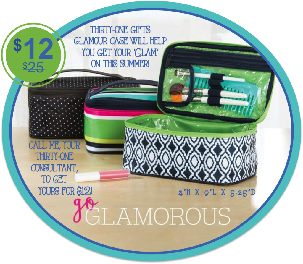 Thirty-One Gifts Glamour Case
