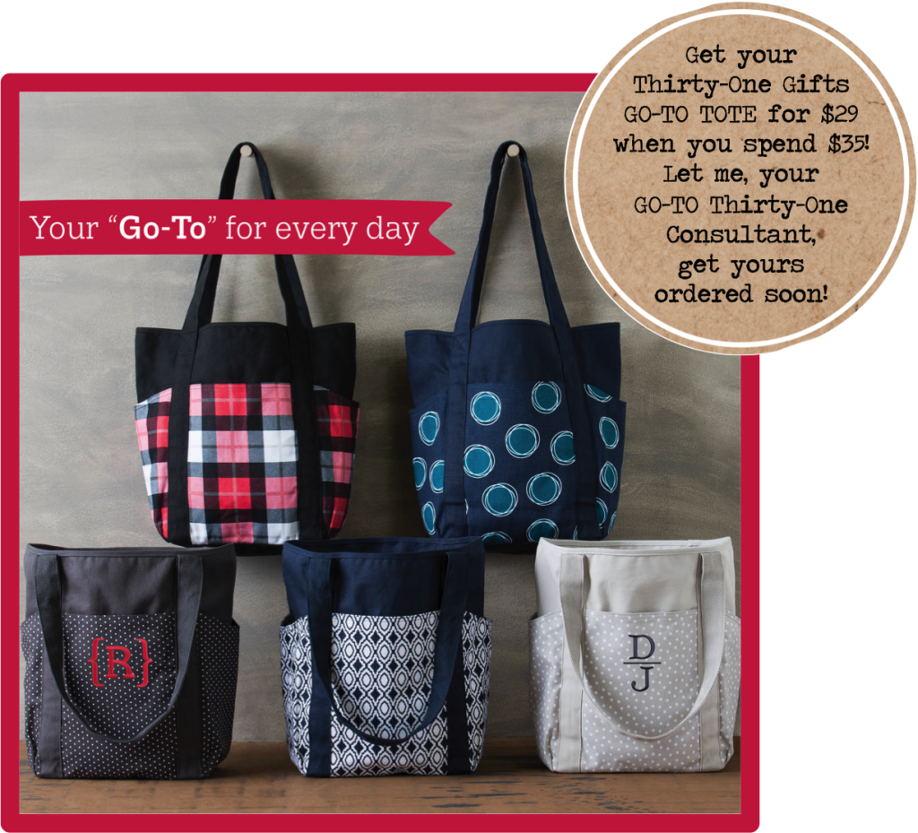Thirty-One Gifts  GO-TO TOTE