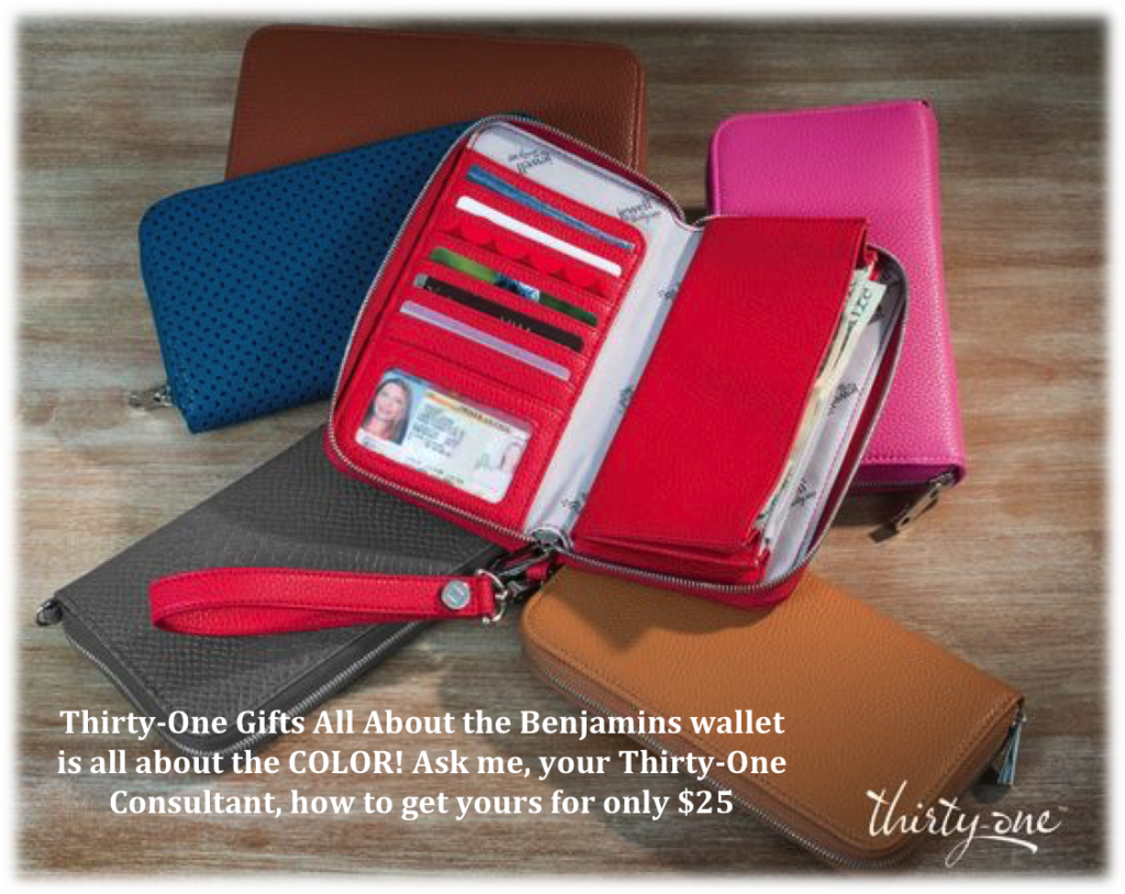 Thirty-One Gifts All About the Benjamins