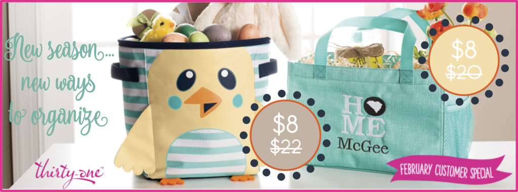 Thirty-One Gifts February Special