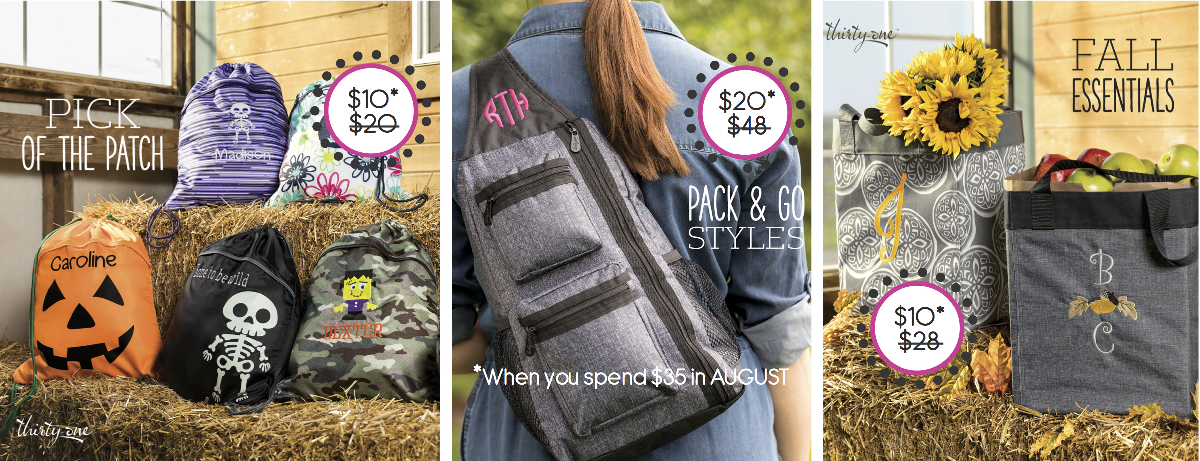 Thirty One Gifts August Special