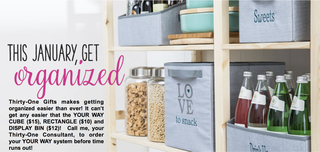 Get Organized With Thirty-One