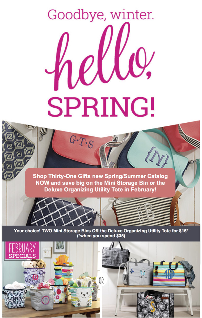 Thirty-One Gifts - Spring-Summer 2018