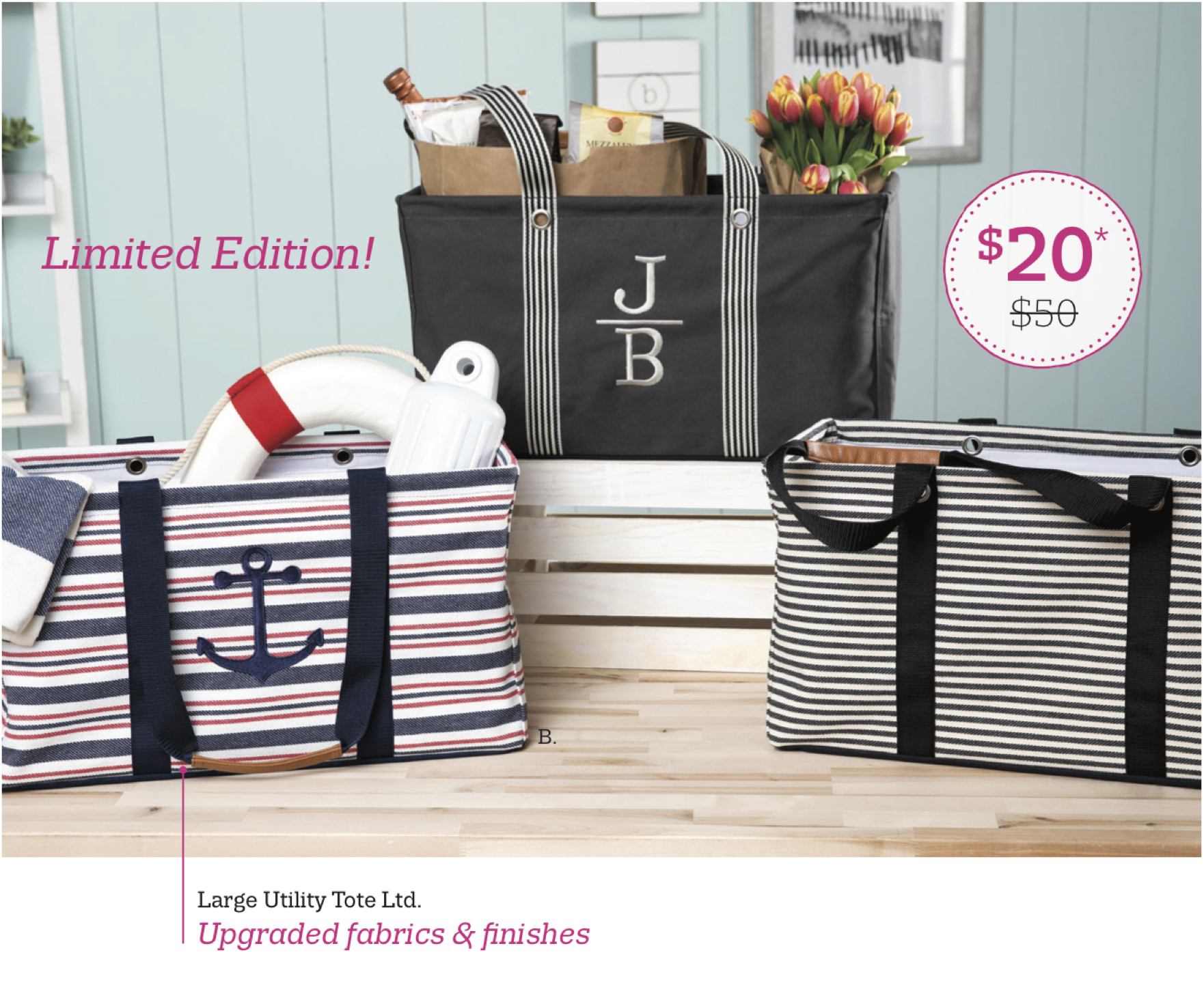 Thirty-One Gifts – Large Utility Tote Ltd