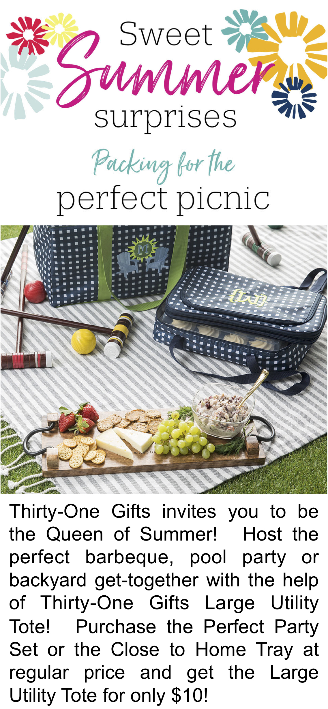 Thirty-One Gifts – Perfect Picnic