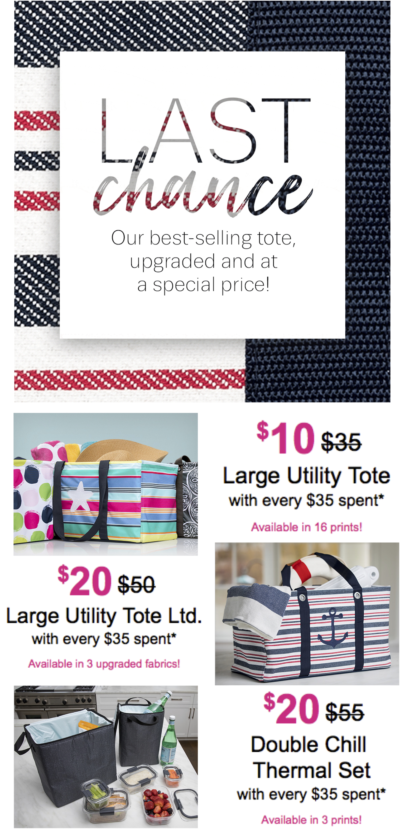 Thirty-One Gifts Last Chance
