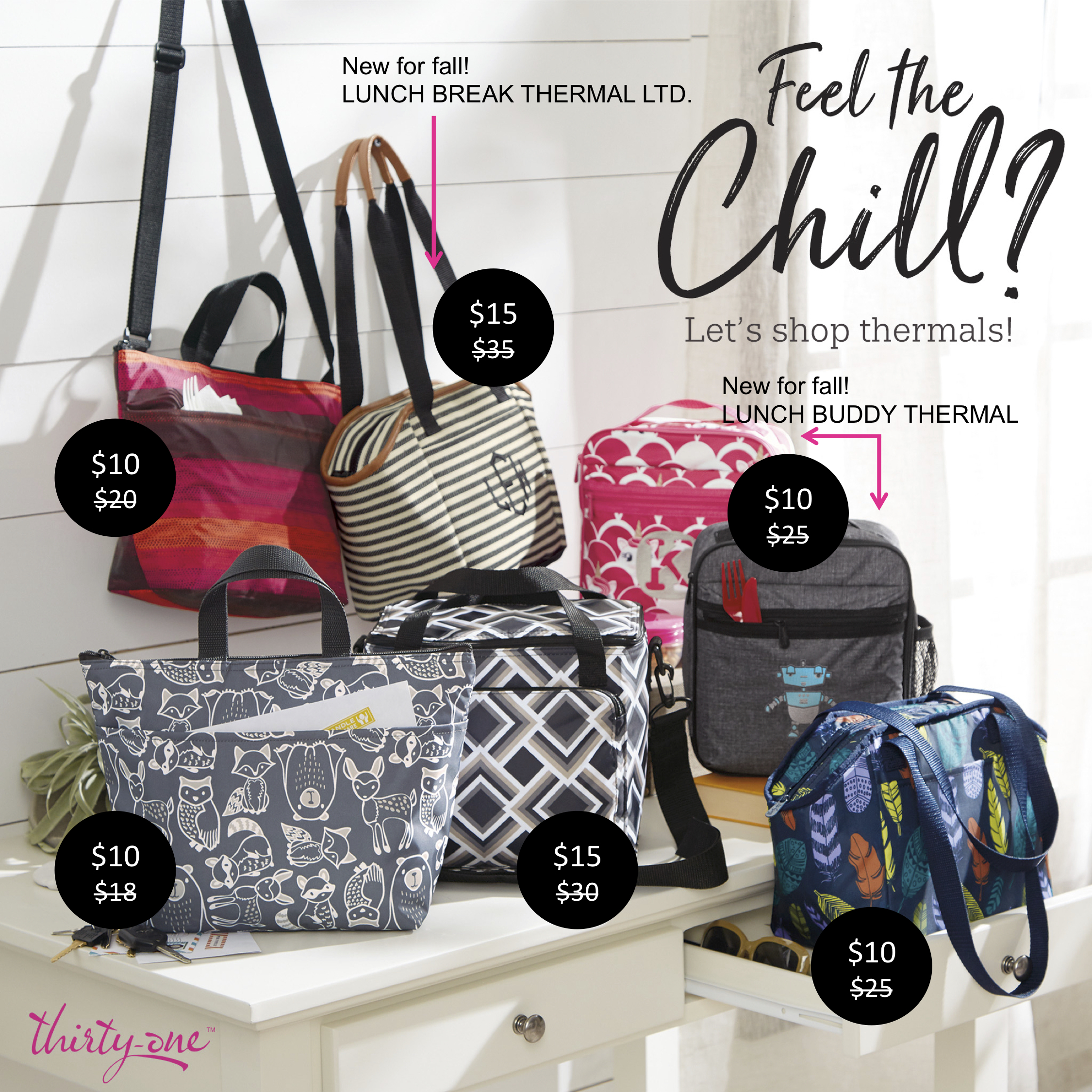 Thirty-One Gifts - Feel the Chill
