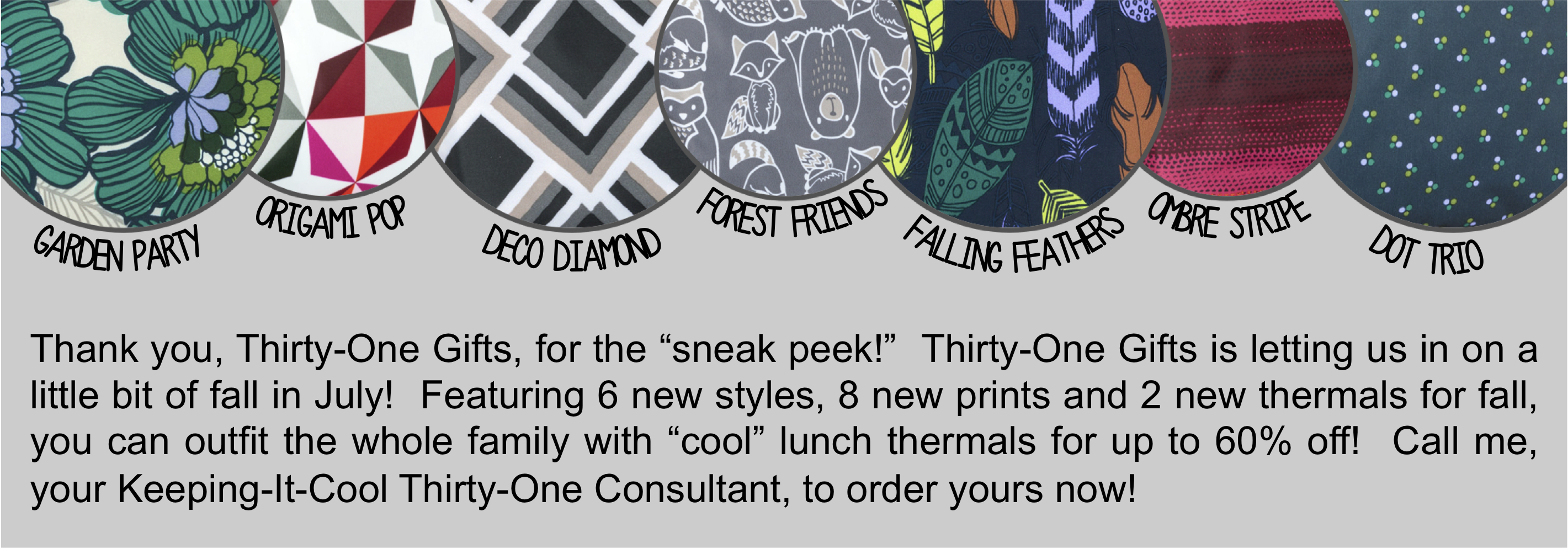 Thirty-One Gifts - Keeping It Cool