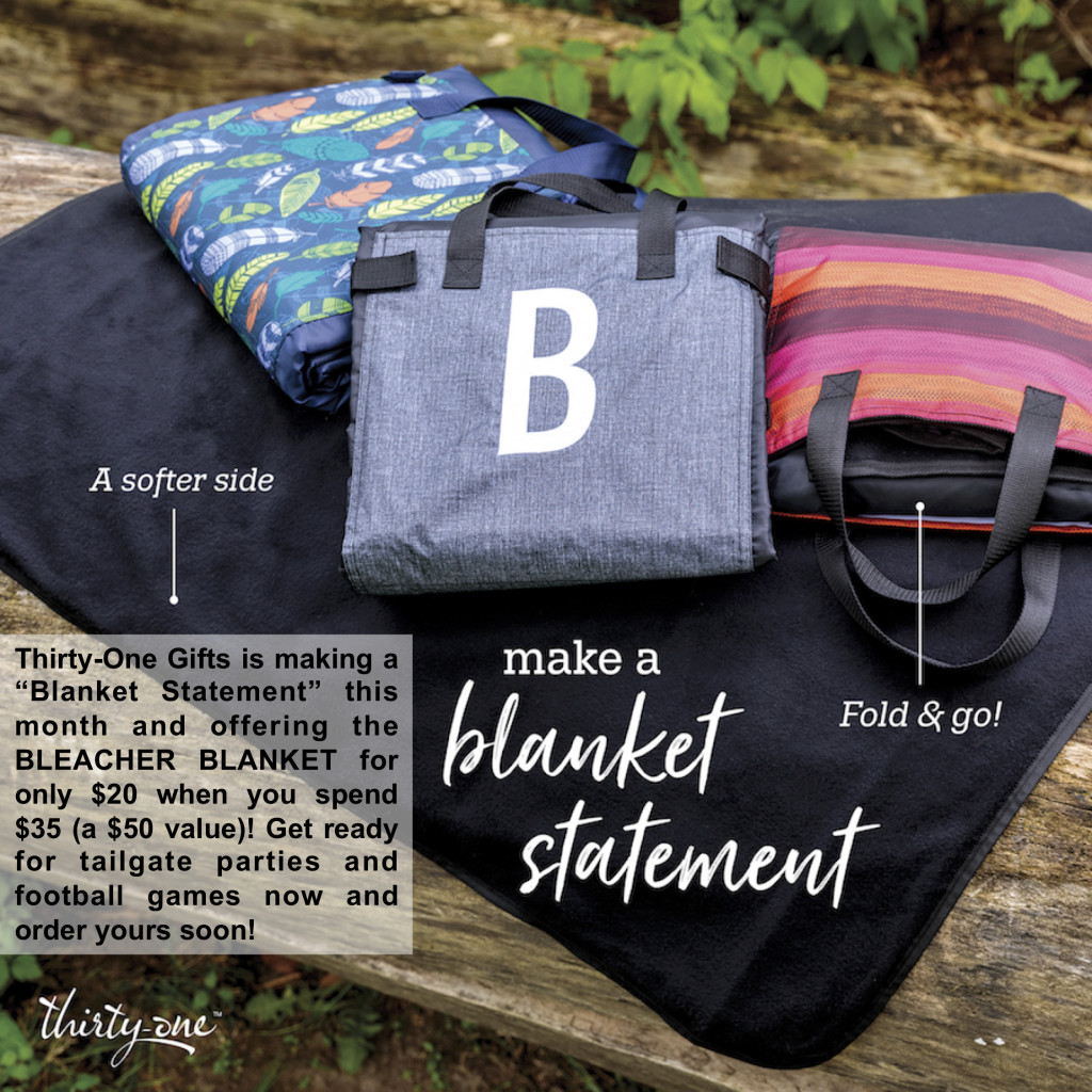 Thirty-One Gifts – Bleacher Blanket