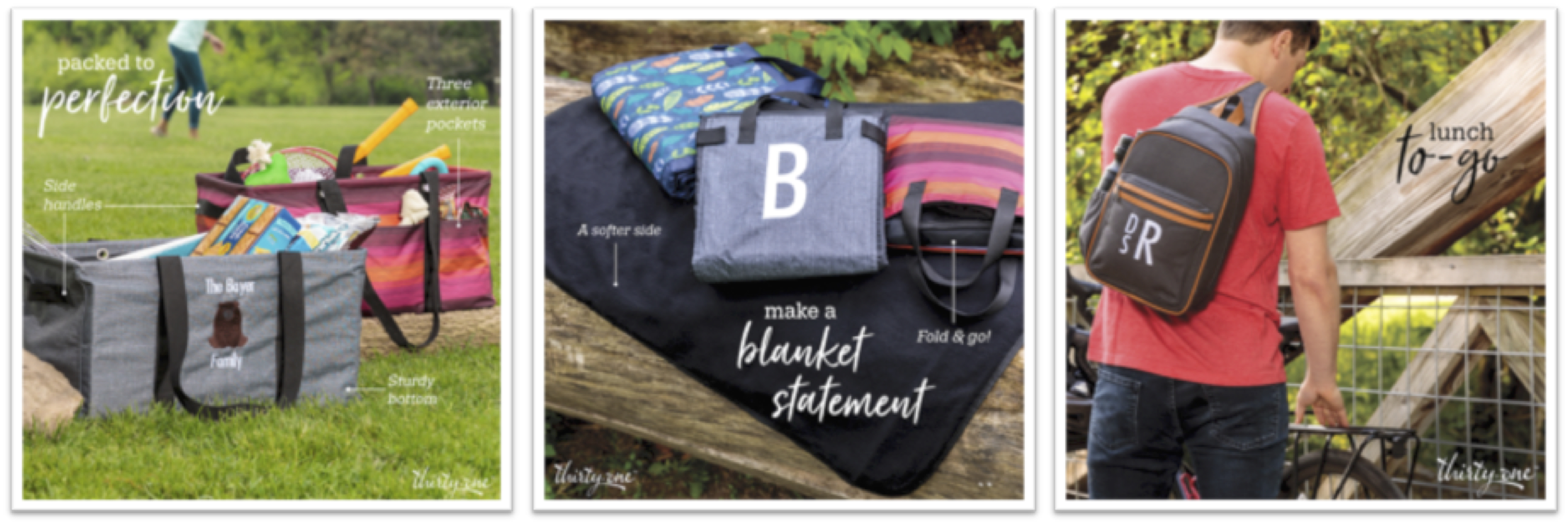 Thirty-One Gifts August Customer & Hostess Specials
