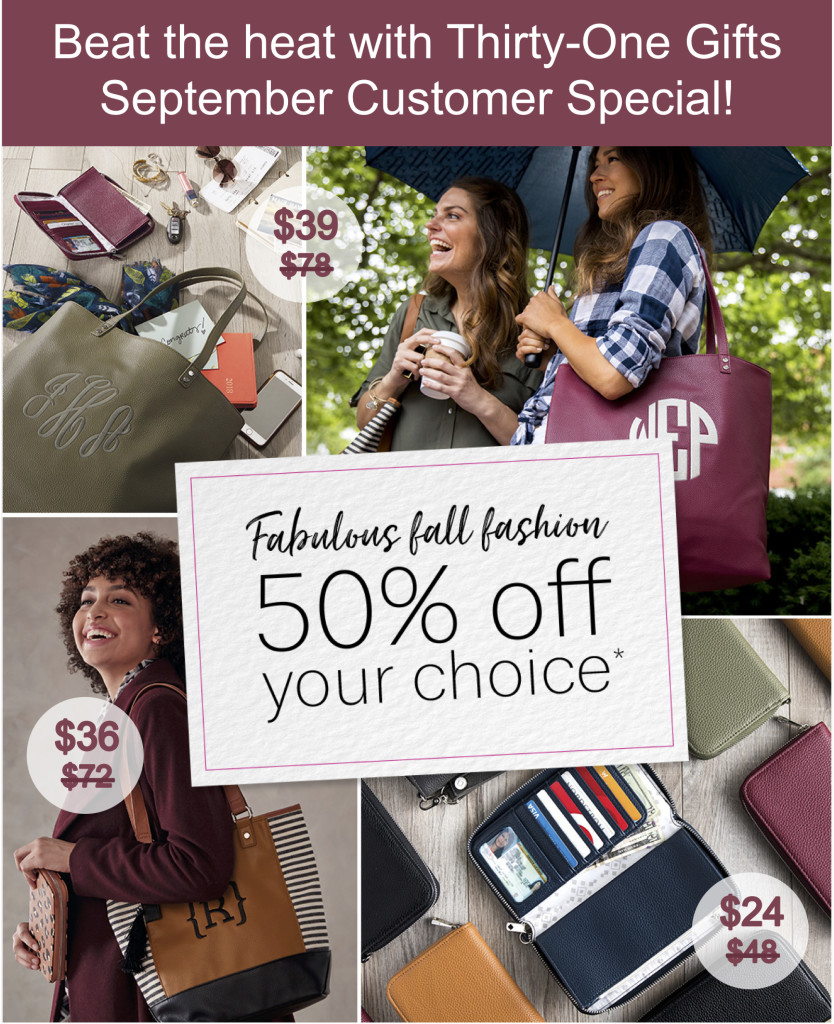 Thirty-One Gifts September Special