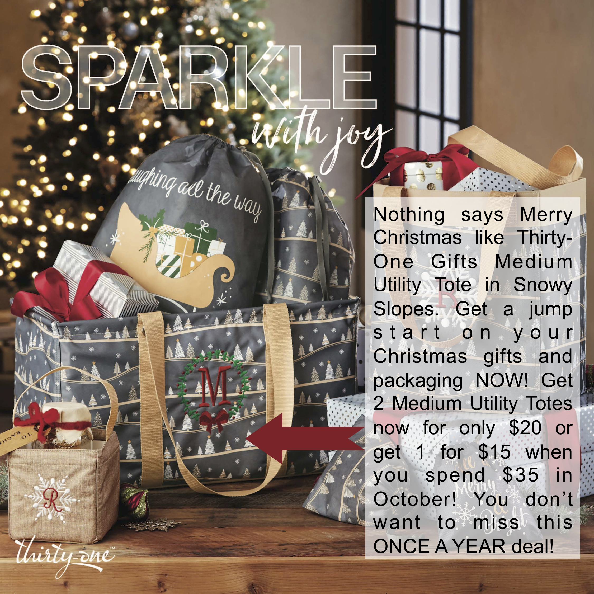 Thirty-One Gifts – Snowy Slopes