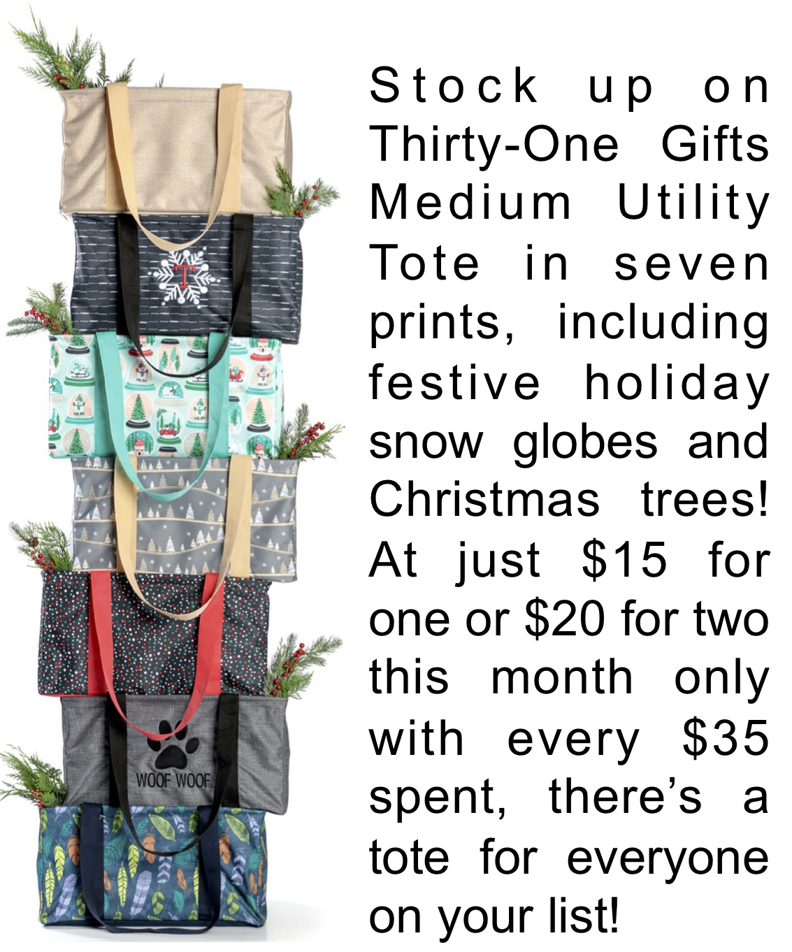 Thirty-One Gifts Medium Utility Tote
