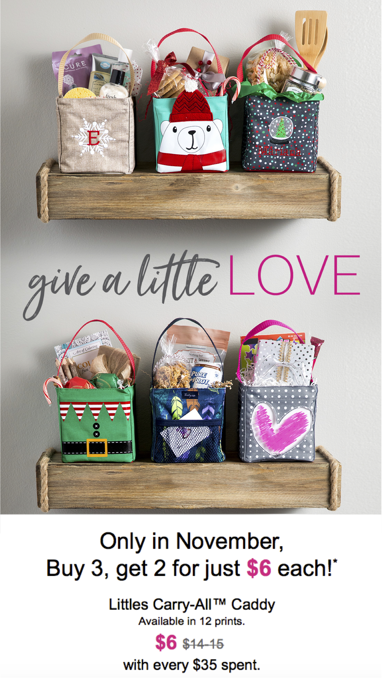 Give a Little Thirty-One Love