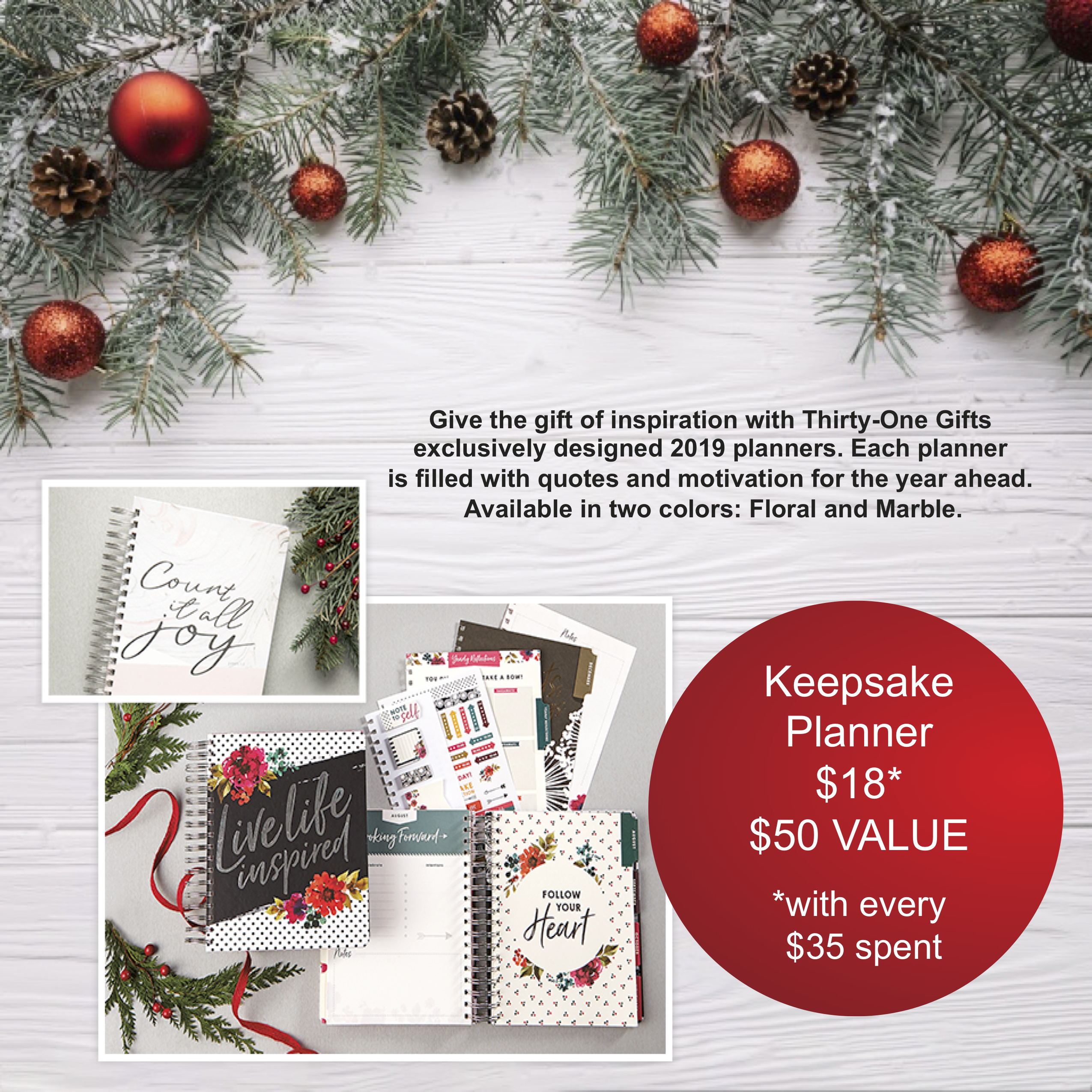 P-Thirty-One Gifts Keepsake Planner