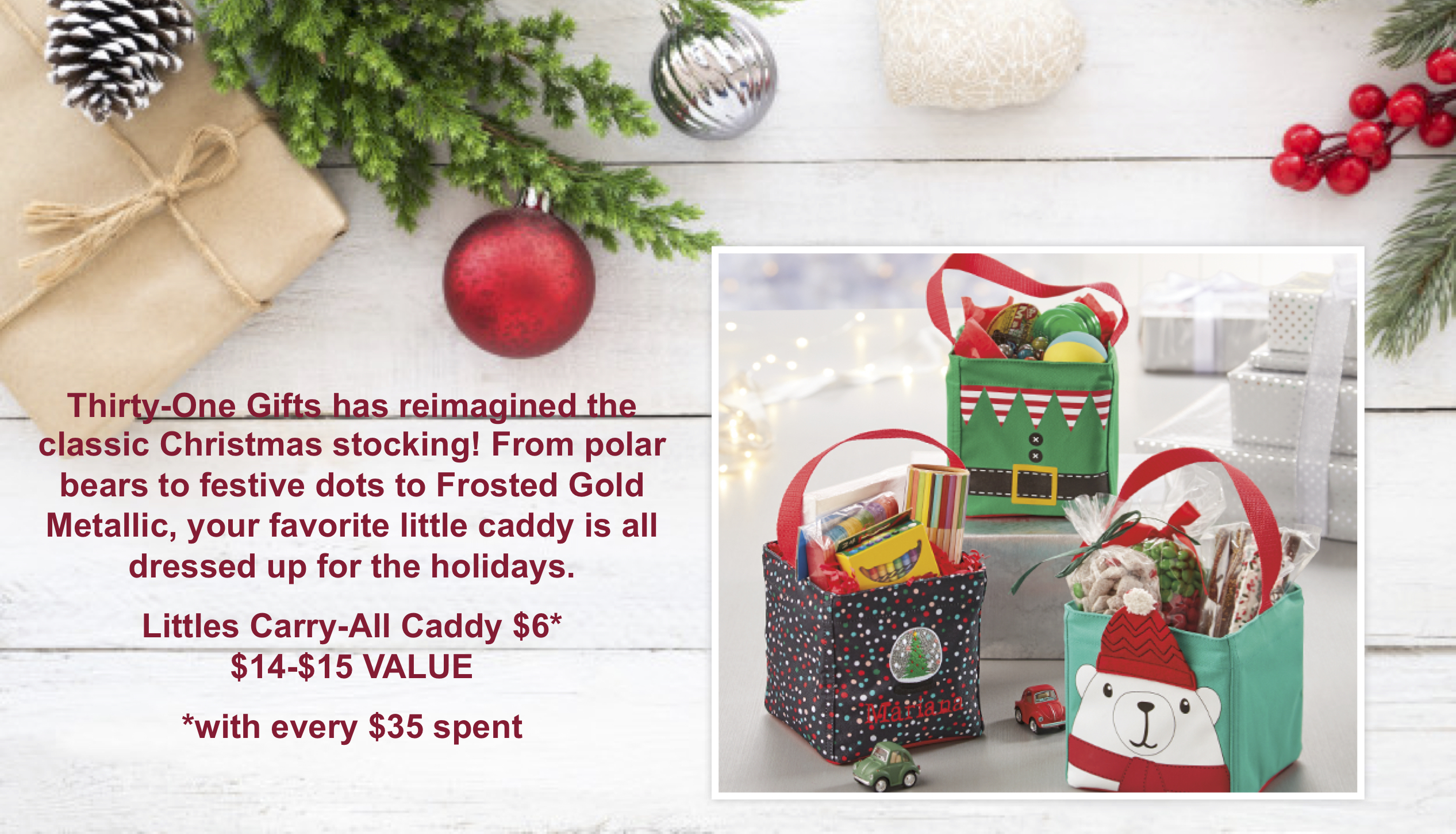 Thirty-One Gifts Littles Carry-All Caddy
