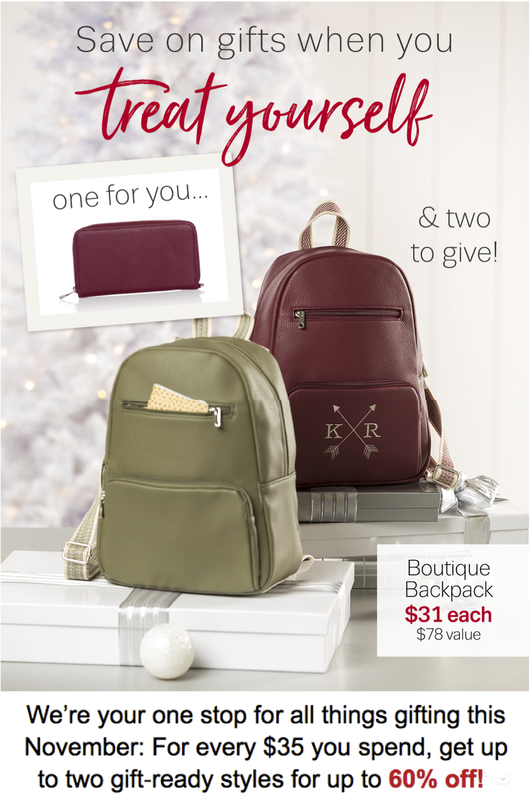 Thirty-One Gifts Treat Yourself