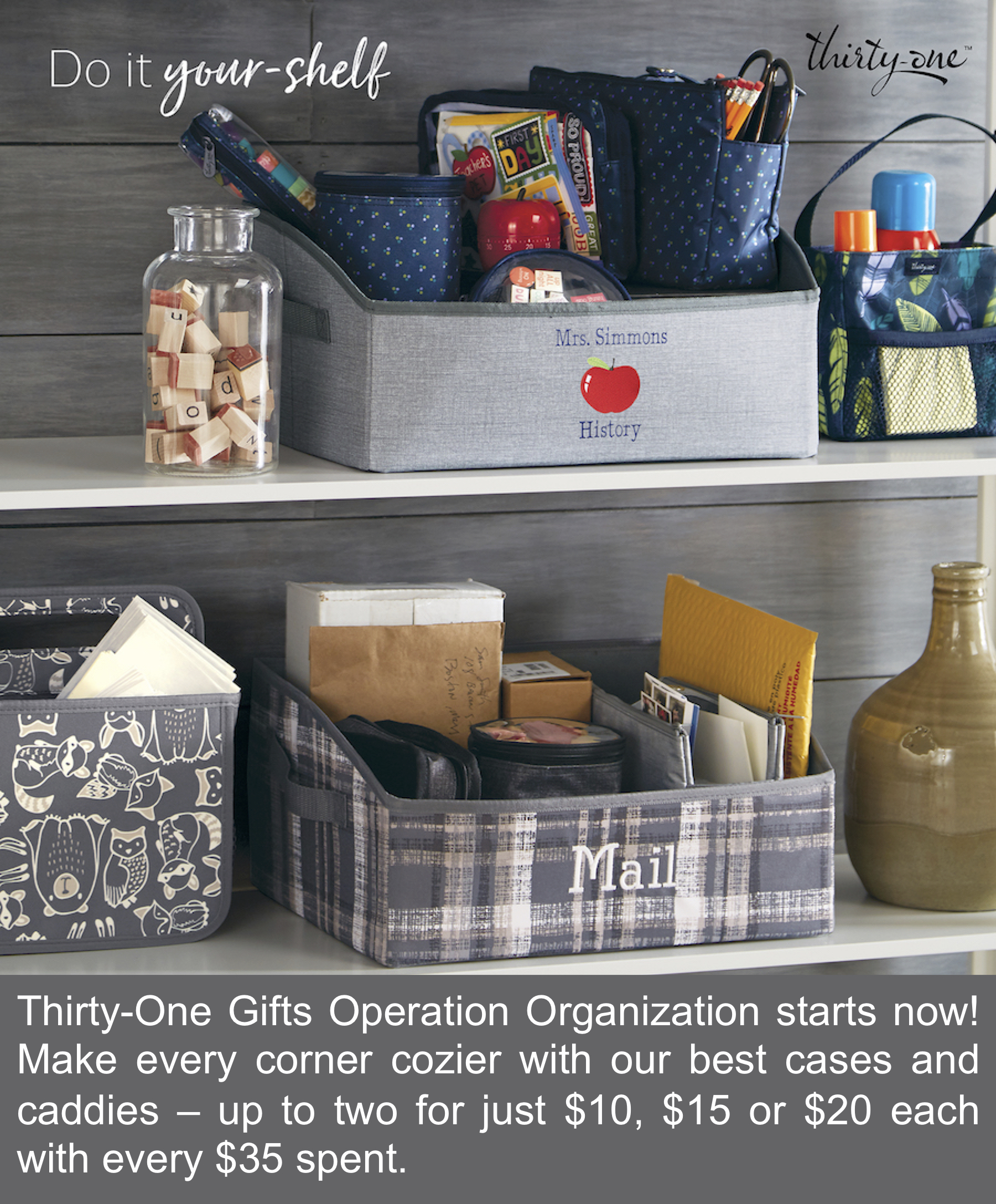Thirty-One Gifts Operation Organization