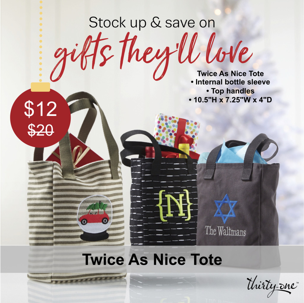 Thirty-One Gifts Twice As Nice Tote