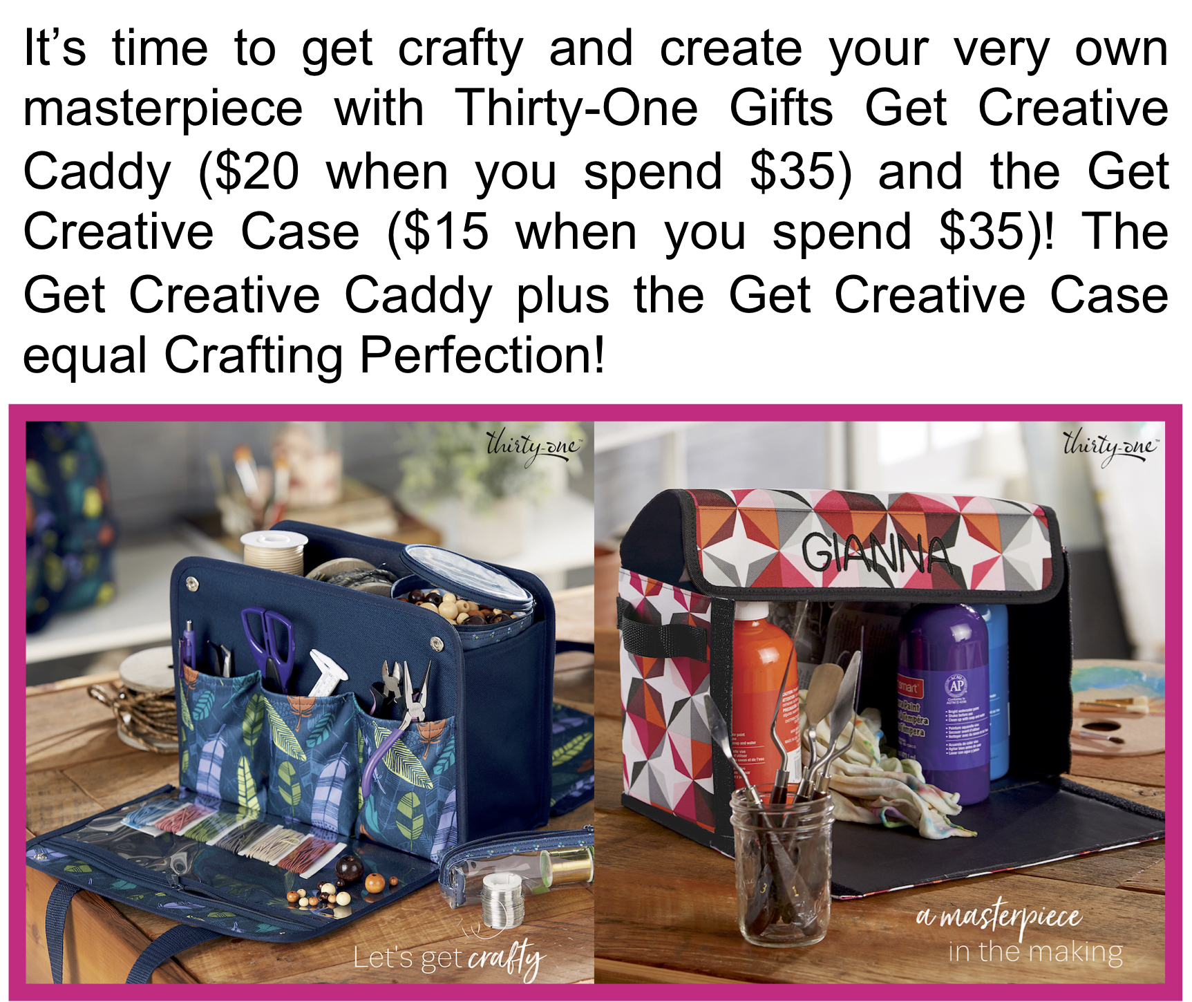Get Creative with Thirty-One Gifts