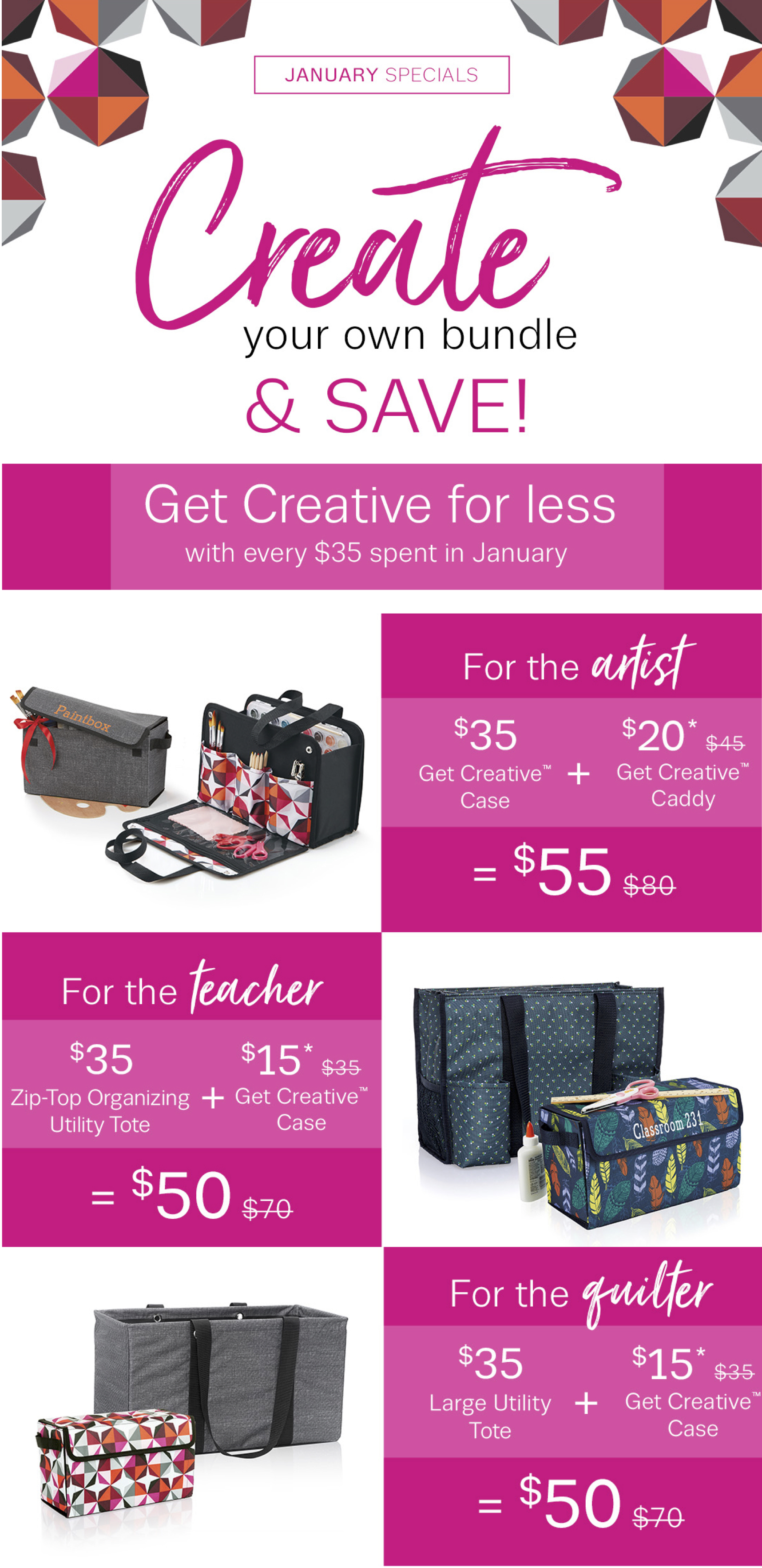 Thirty-One Gifts – Create and Save