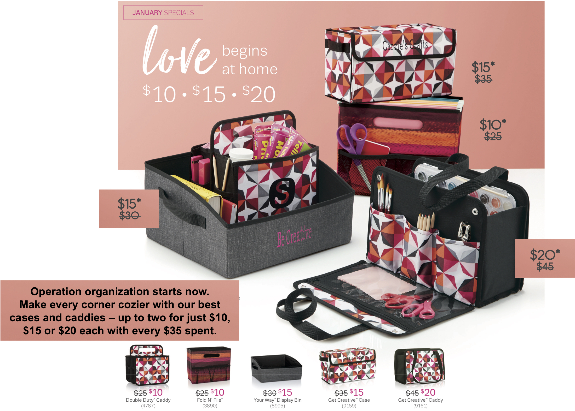 Thirty-One Gifts January Special