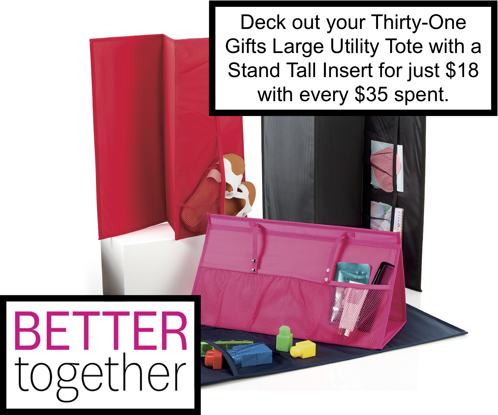 Thirty-One Gifts – Stand Tall Insert